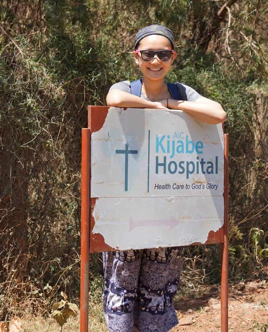 Molly served at Kijabe Hospital in Kenya in 2016.