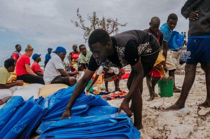 Providing critical relief to Mozambique cyclone victims