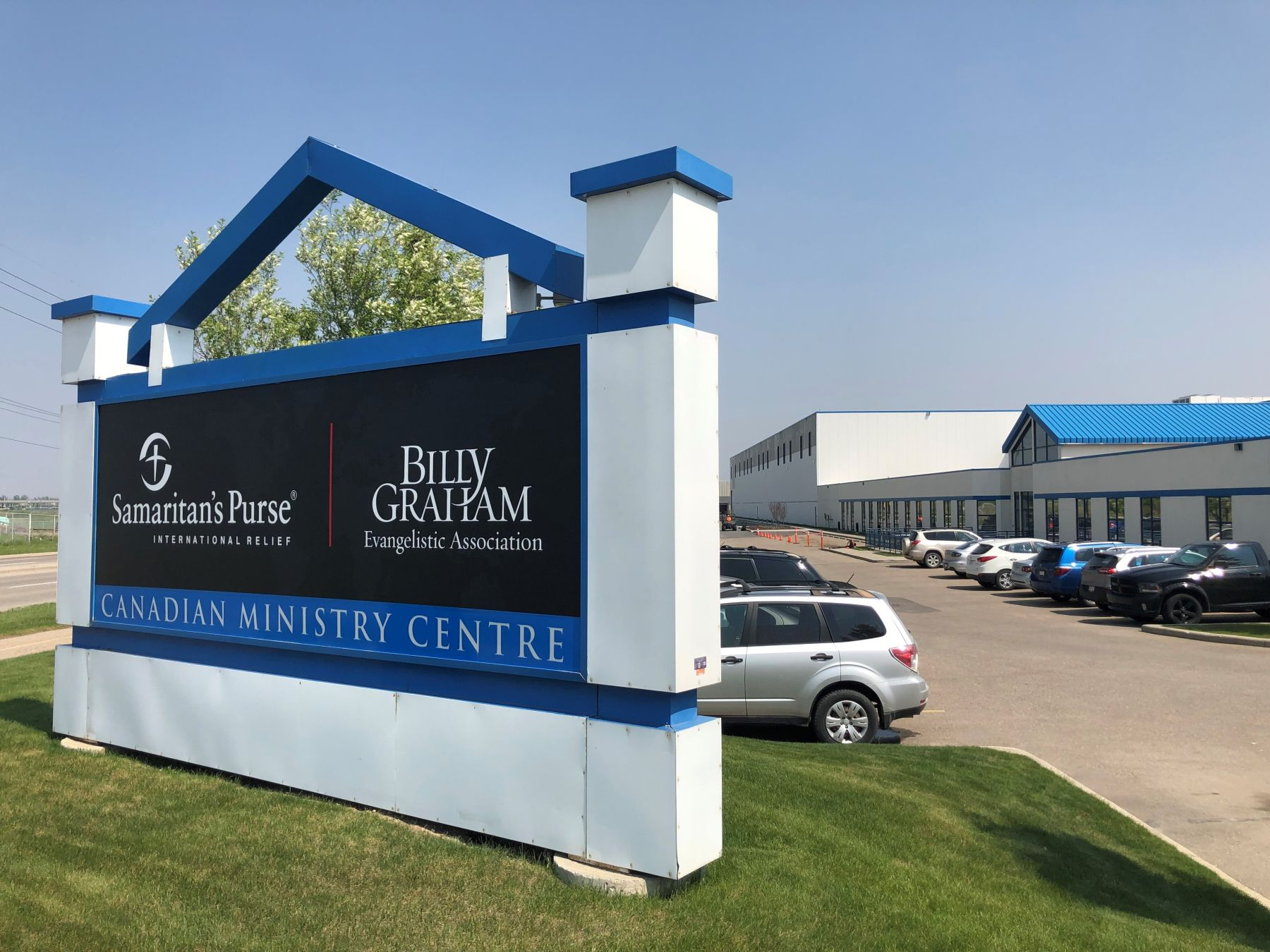 The Samaritan's Purse Canada office is located in Calgary, AB.