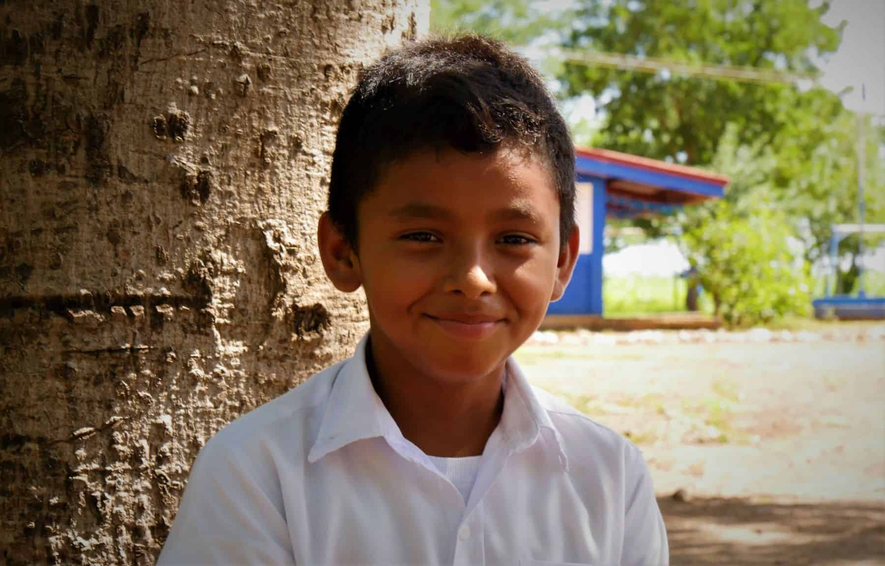 Kevin's health and grades have improved through safe water.