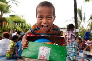 It's time to start packing shoebox gifts!
