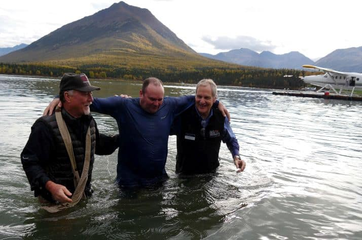 Military couples come away refreshed after a week at Operation Heal Our Patriots at our Samaritan Lodge in Alaska. Veteran Ross Thistle was among the 13 Canadians in 2016 who were baptized to declare their faith in Christ.