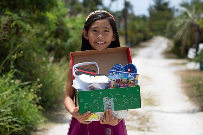 Operation Christmas Child blesses typhoon survivors on Saipan