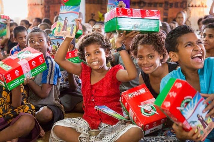 Children and families across Fiji are accepting Jesus Christ as their Lord and Savior.
