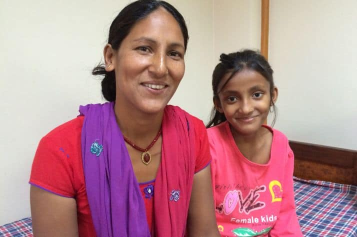 Parbati and Menika - patient navigation