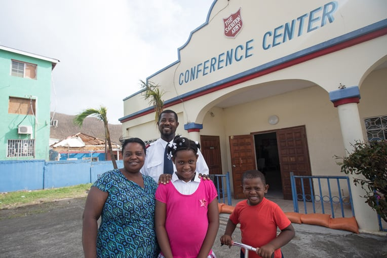 Pastor Lapaix and his family are helping their neighbors recover.