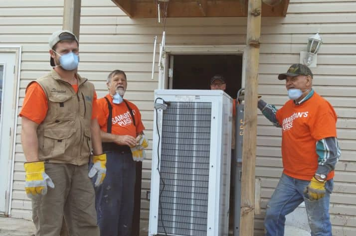 Samaritan's Purse volunteers and staff sifted through ashes, removed fridges of rotting food, supplied clean-up equipment, and more during our wildfire response in Williams Lake, BC.