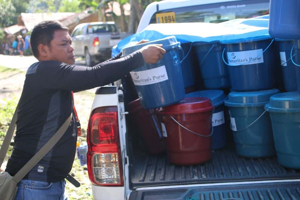 Samaritan's Purse is providing emergency supplies to the victims of Tropical Storm Tembin.
