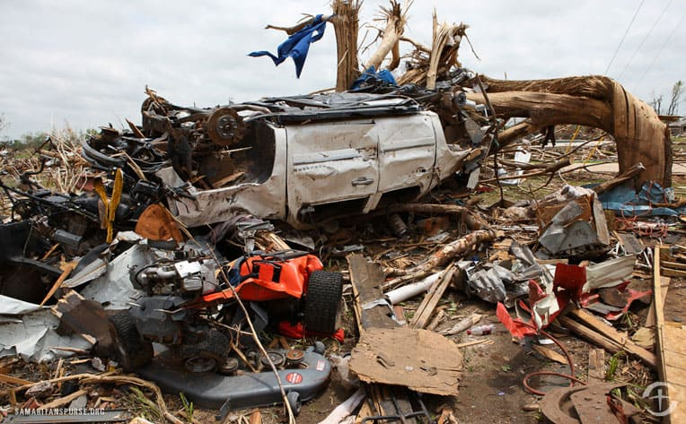 The devastation of tornadoes can be sudden and widespread.