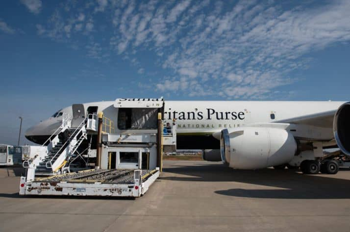 Samaritan's Purse airlifts relief to displaced Syrian families