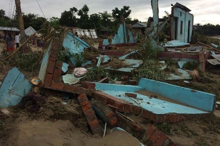 Heavy monsoon rains have resulted in deadly flooding across southeastern Nepal.