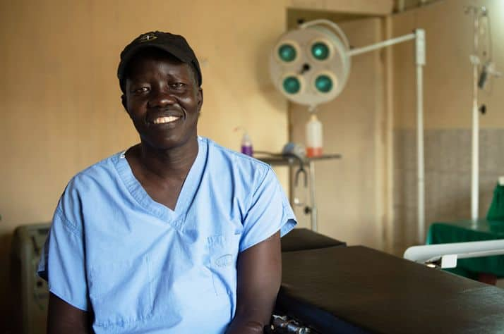 Dr. Evan Atar was recognized by the United Nations for his work serving refugees in Maban County in South Sudan.