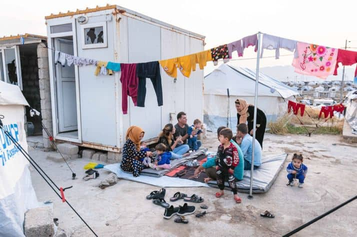 Samaritan's Purse offers relief as Syrian refugees cross into Iraq