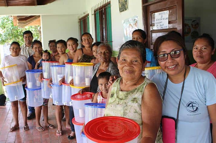 Sharing living water through clean water projects