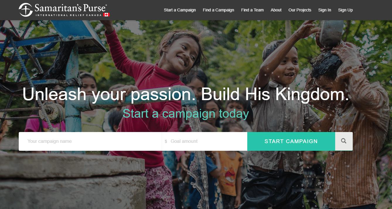 Sponsor Me homepage