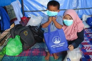 Canadians bring hope to Indonesian earthquake survivor