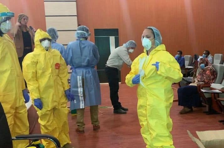 Our training includes how to properly don personal protective equipment.