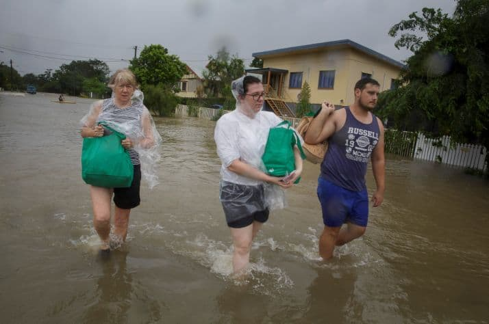 Samaritan's Purse Canada helping Australia's flood victims