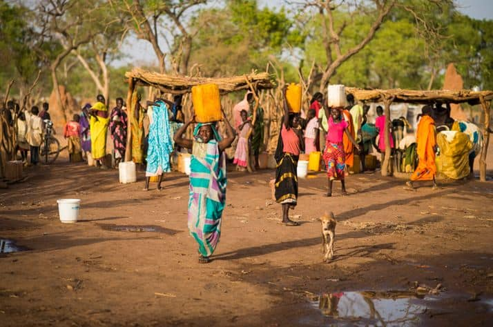 Refugees have been flooding from Sudan into South Sudan since the country was created. Since December, violence in South Sudan has caused thousands of refugees to flee into Uganda.