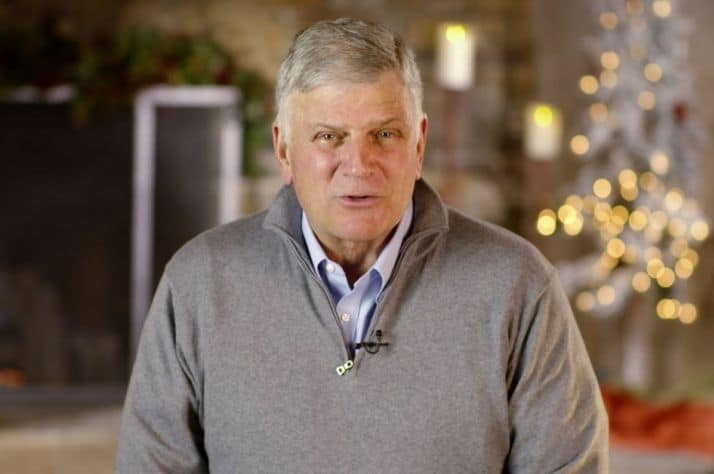 Thank you from Franklin Graham