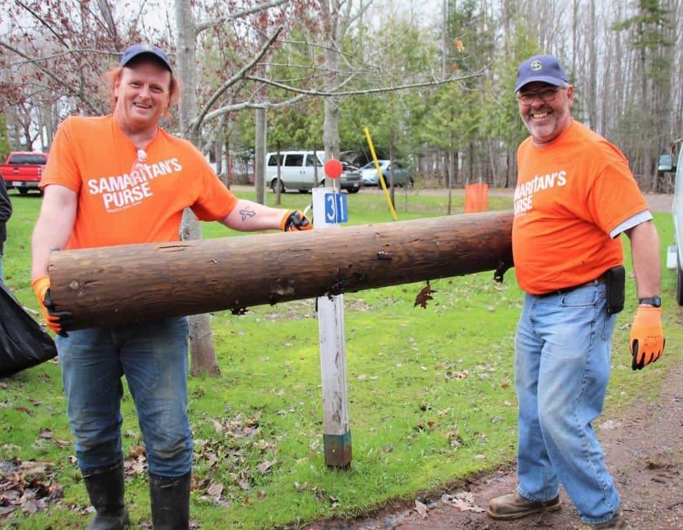Fredericton volunteers