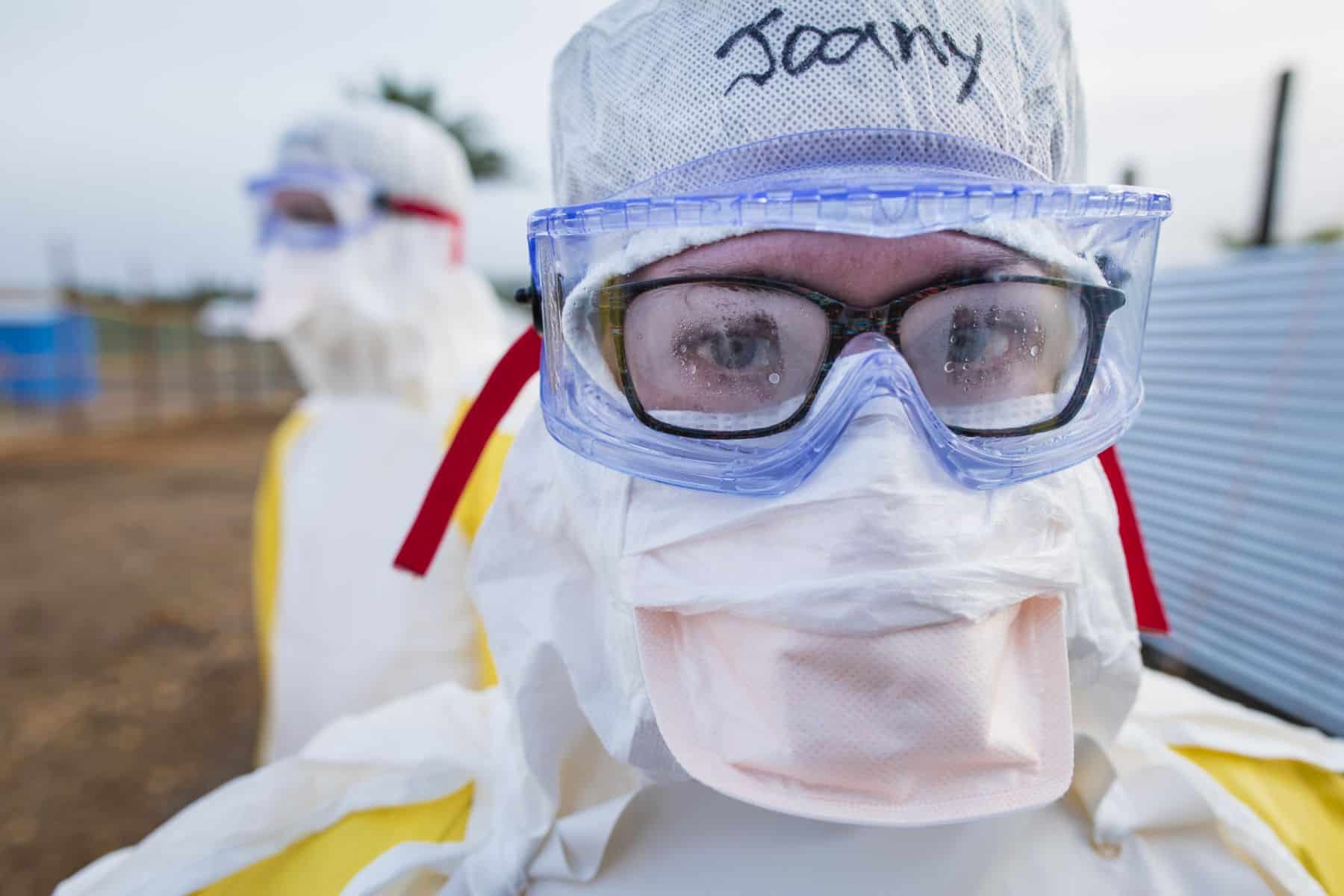 Canadian nurse Joany McDougall is serving with Samaritan's Purse in the fight against Ebola.