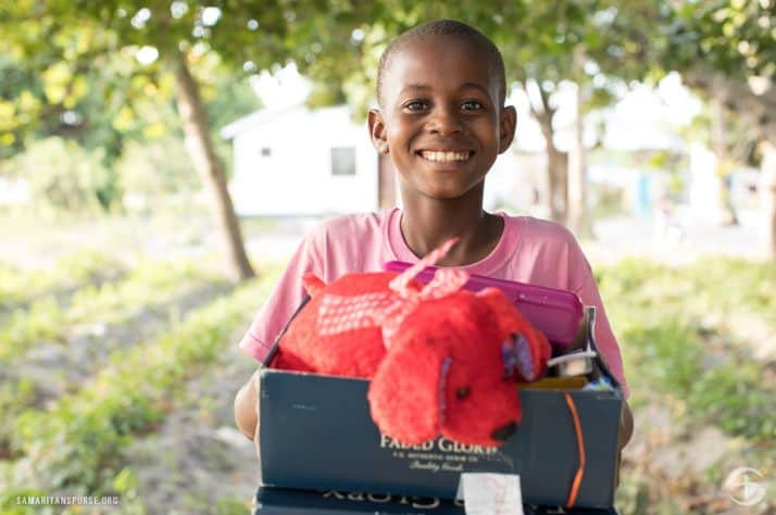 Operation Christmas Child brings joy and hope to children in desperate situations around the world through gift-filled shoeboxes and the message of God's unconditional love.