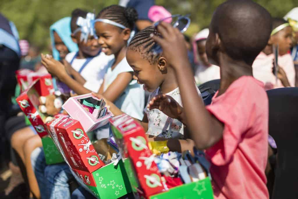 The day they receive their shoebox gift is one that children will remember for many years to come.