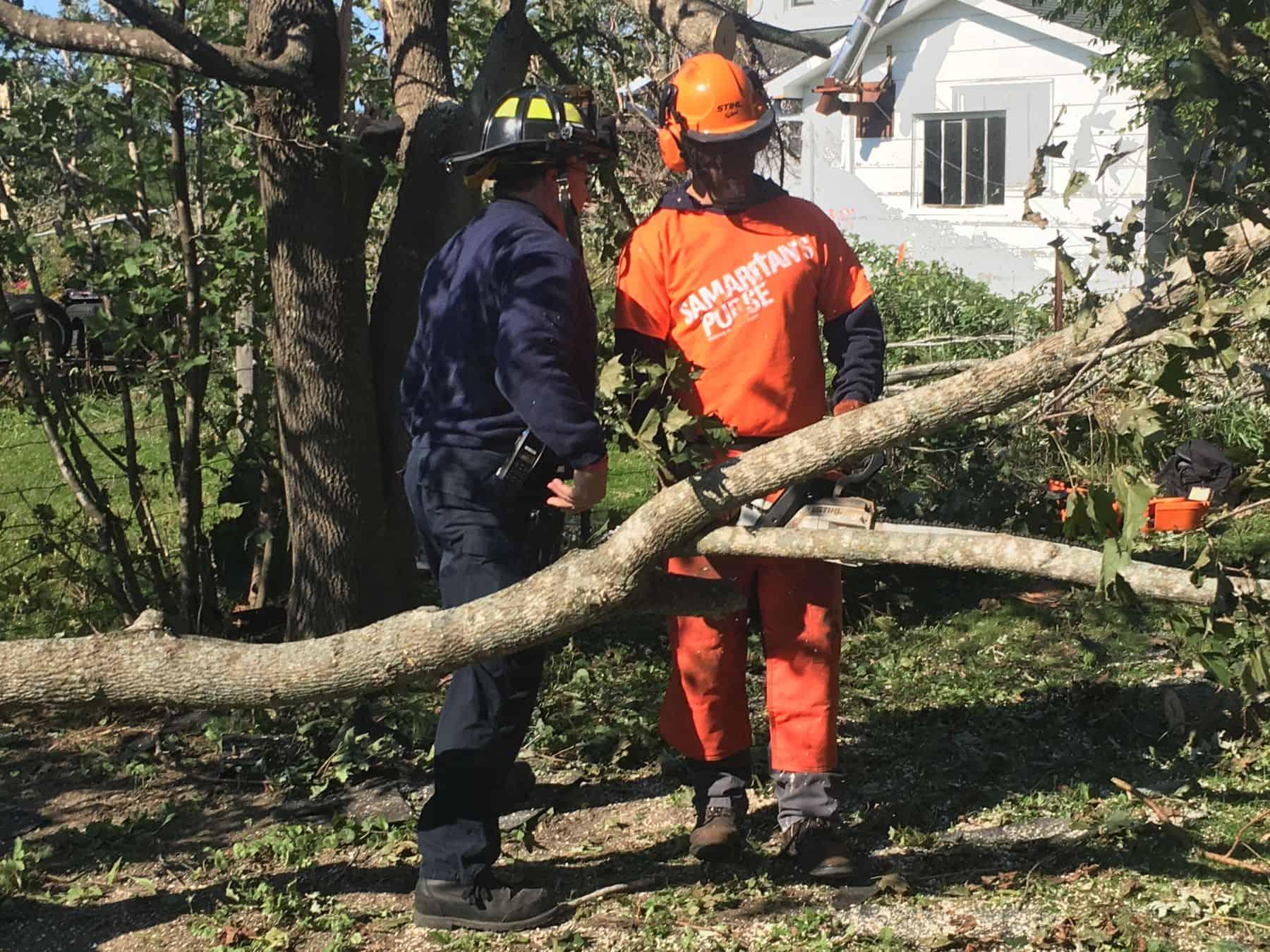 Samaritan's Purse considers it a privilege to serve alongside emergency responders.