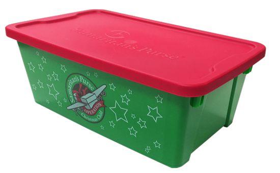 plastic shoeboxes