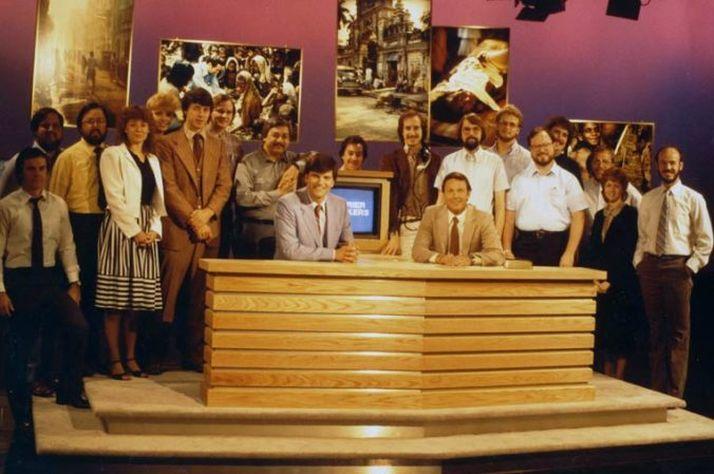 """Franklin Graham appeared on Jim Bakker's """"PTL"""" television program."""