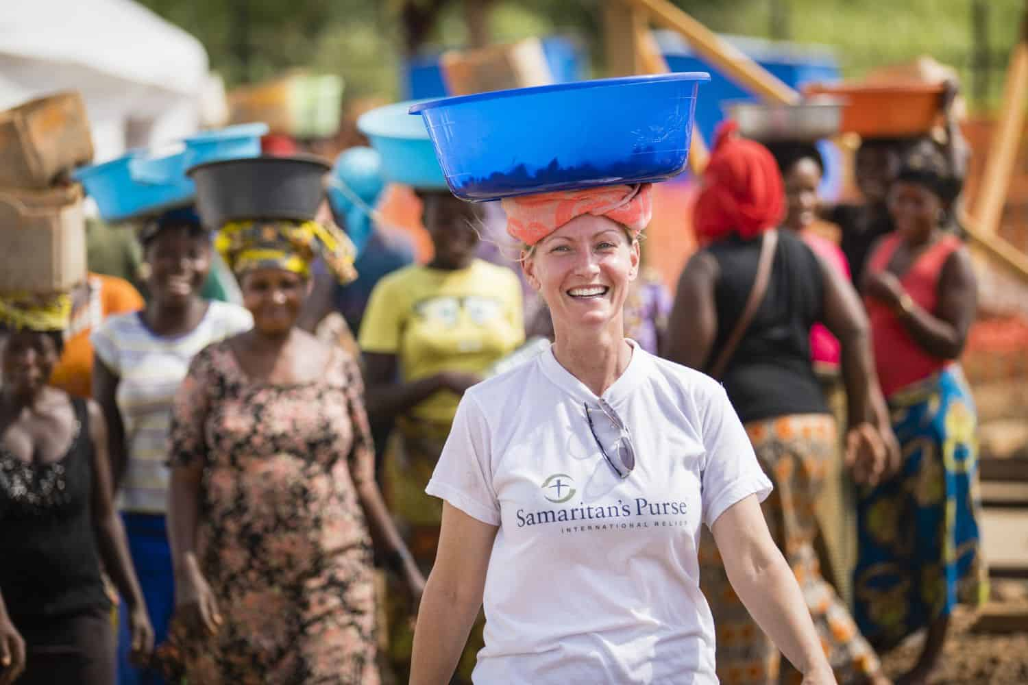 DART member Shelly Kelly has served with Samaritan's Purse on a number of international deployments.