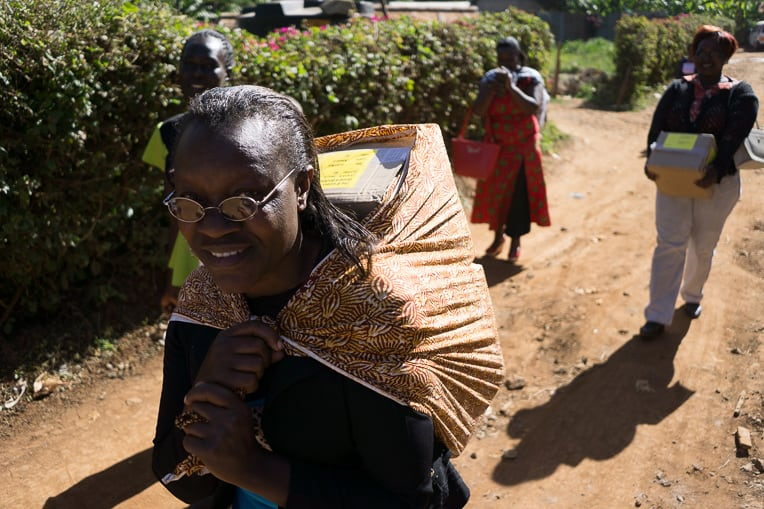 Rosemary Kiligo in Meru, Kenya, is one of many dedicated leaders taking children through The Greatest Journey this year.