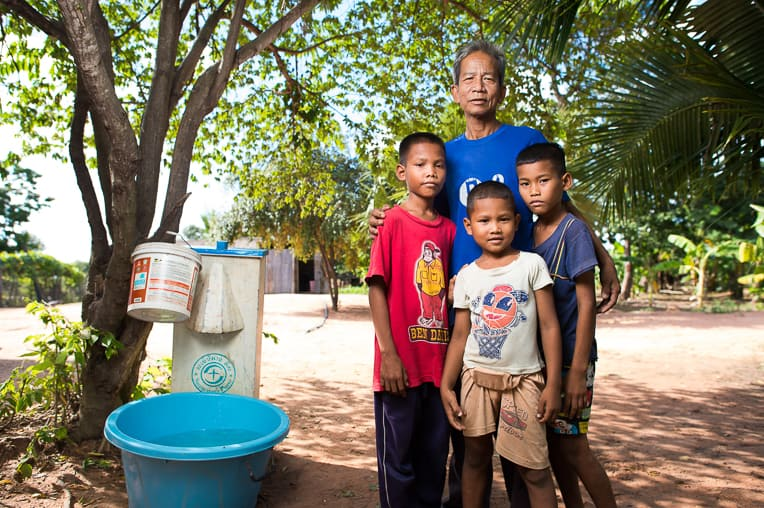 Samaritan's Purse helps provide families all over the world with access to clean water.