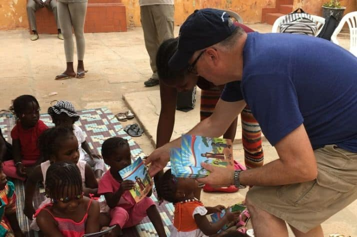 Local Christmas Child Coordinator Hand-Delivers Shoeboxes In Africa