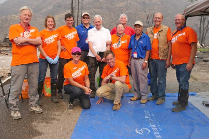 Samaritan's Purse volunteers are demonstrating Jesus' love to BC wildfire victims.